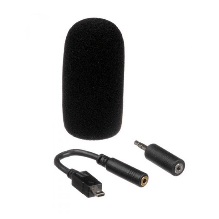 Stereo Micrófono 8,5cm Fujifilm MIC-ST1 para