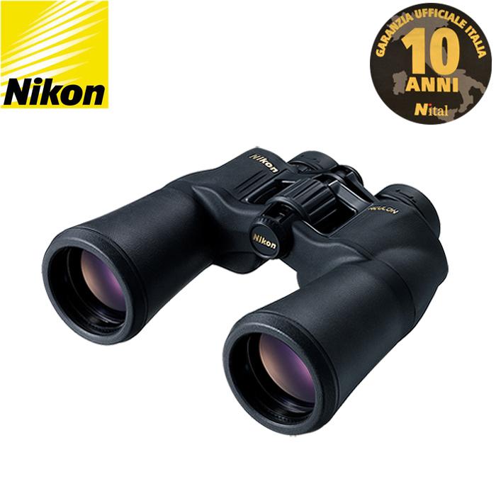 con Garanzia Italiana NITAL 10 anni Binocolo Nikon Aculon A211 16x50